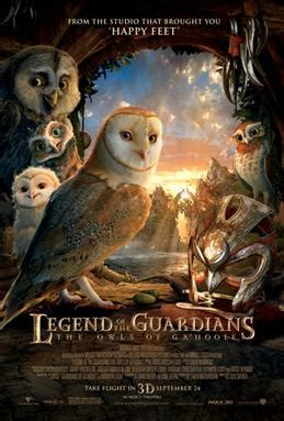 Legend of the Guardians: The Owls of Ga'Hoole - Wikipedia