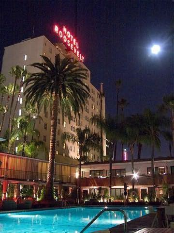 Are You Scared: Hollywood Roosevelt Hotel