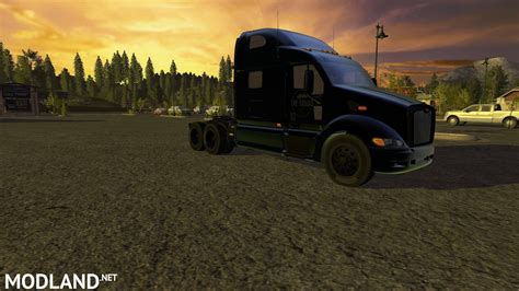 Peterbilt 387 Blacked out ghosted Squad edition mod