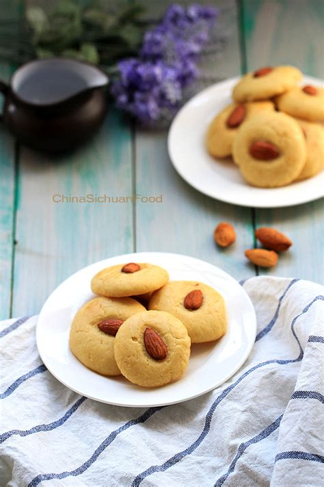 Chinese Almond Cookie | China Sichuan Food