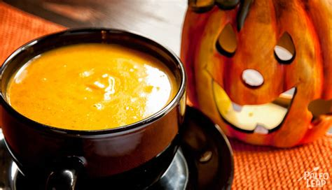 Pumpkin Soup With Apple And Spices | Paleo Leap