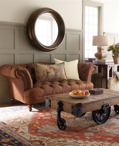 The classic and beautiful Chesterfield sofa, a fresh