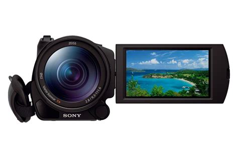 Sony FDR-AX100 4K Camcorder Firmware Update Released