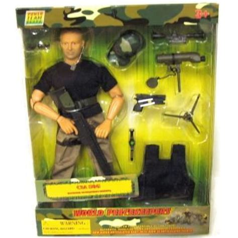 World Peacekeepers 12in Poseable Army Action Figure CIA