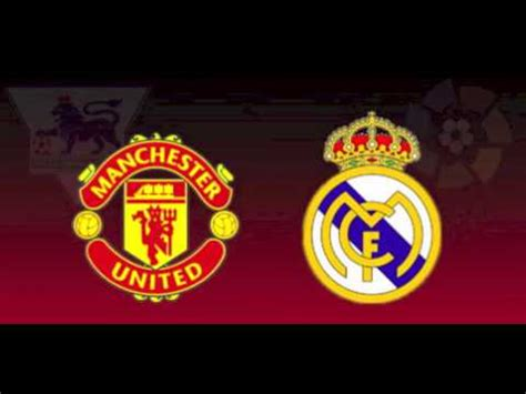 Champions League Draw- Manchester United vs Real Madrid