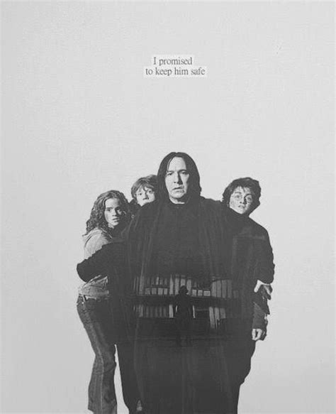Would you stay with me? Until the very end! ♥️   Severus