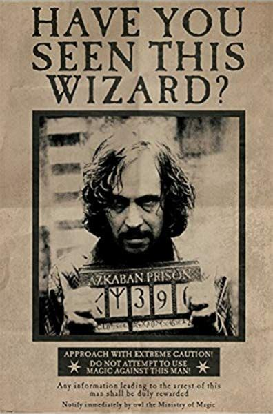 Harry Potter Wanted Sirius Black Maxi Poster 61x91