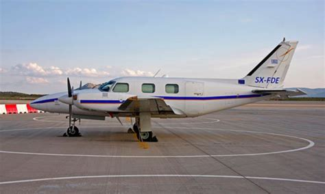 Piper PA-31P (SX-FDE) Life Line Aviation S/N 31P-7400175