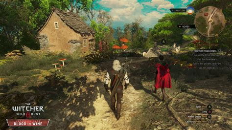 The Witcher 3: Blood and Wine Toussaint Map vs Ard Skellig