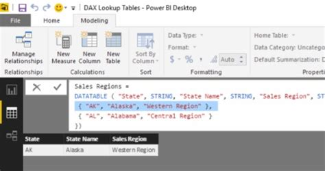 Fast Break 03: Creating Lookup Tables using DAX