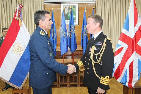 Naval attaché honoured by landlocked country   Royal Navy