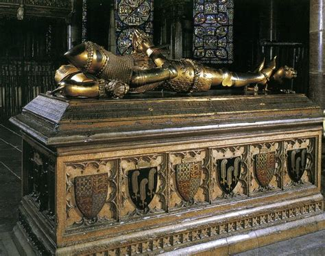 Medieval tomb of Edward, the Black Prince   Canterbury
