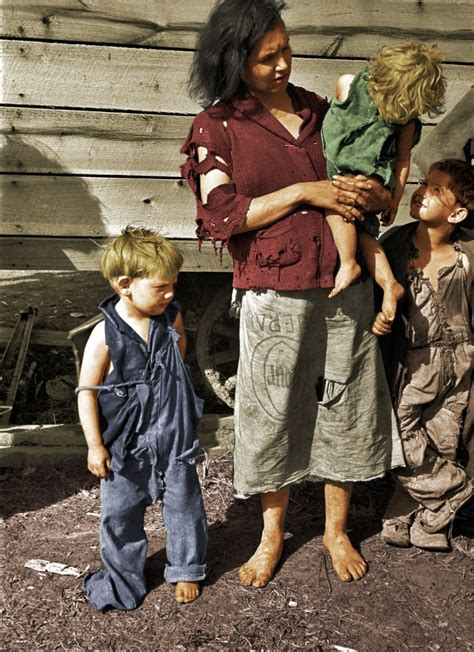 Literally Dressed in Rags (colorized) | Shorpy Old Photos