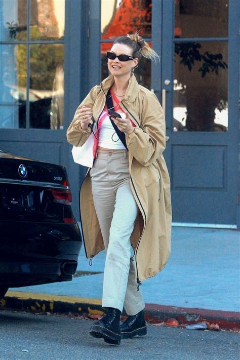 BEHATI PRINSLOO Out Shopping on Melrose Place 01/28/2020