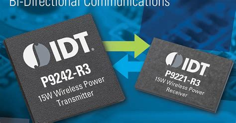 Wireless power chipset supports authentication and bi