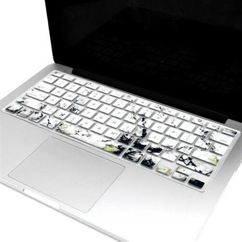 """Marble Pattern Keyboard Cover Skin for Macbook Pro 13"""" 15"""