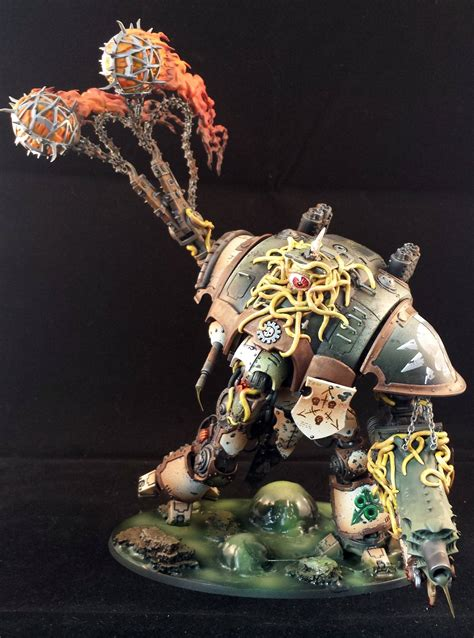 Nurgle Knight (Commission) 2nd Knight done YAY! - Forum