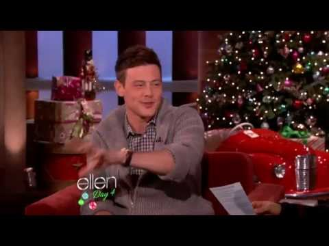 Lea Michele Opens Up About Cory Monteith's Death on Ellen