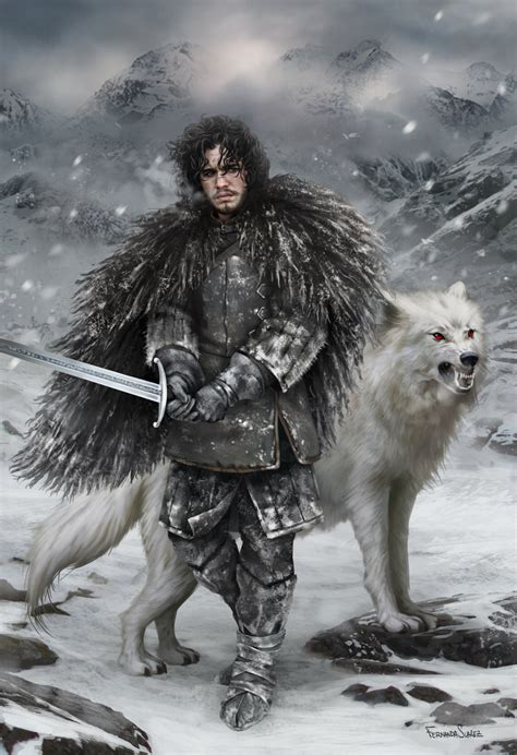 For The Watch — Jon Snow Fan Art From Around The Web