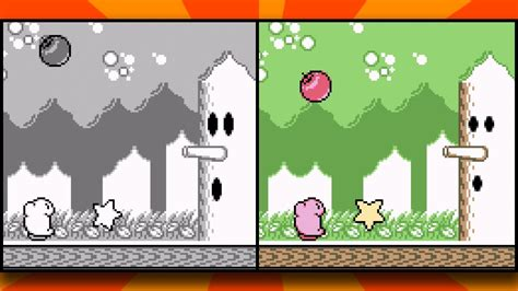 Kirby's Dream Land DX - Full Color Rom Hack - YouTube