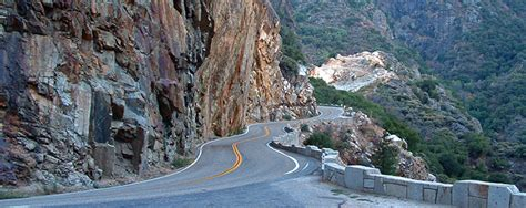 Kings Canyon Scenic Byway - Sequoia & Kings Canyon