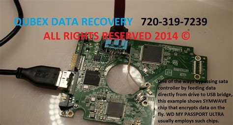 WD MY PASSPORT ULTRA data recovery by QUBEX DENVER DATA
