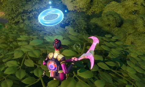 Fortnite: Collect Floating Rings At Weeping Woods