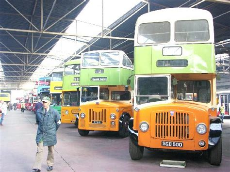 old glasgow buses